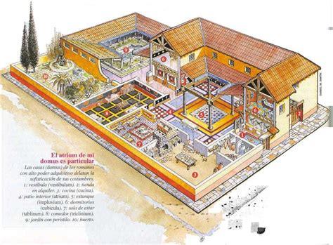 Augusta Floor Plan by Las Casas Romanas Roma Antigua