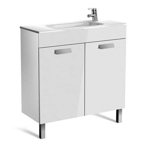 Roca Debba Compact 2 Door Vanity Unit With Basin Uk Roca Bathroom Vanity Units