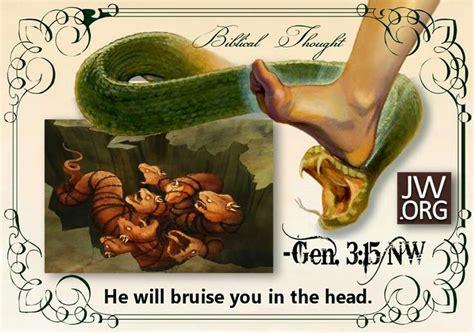serpent in genesis 3 soon jesus will crush the of the serpent genesis 3