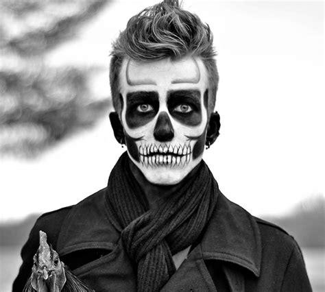 imagenes halloween hombres maquillaje halloween hombre calavera jpg 626 215 563 p 237 xeles