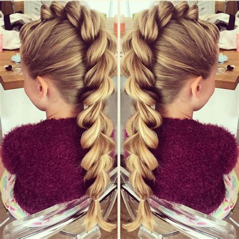 mohawk pull through braid i will be doing this to malis