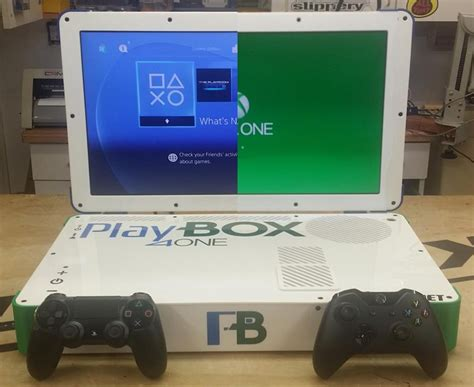 modded ps4 console epic laptop mod combines ps4 and xbox one gamespot