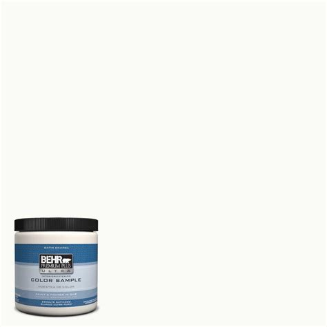 behr white behr premium plus ultra 8 oz ppu18 6 ultra white