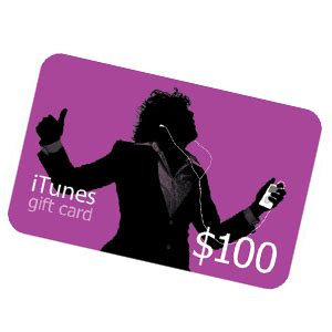 Itunes Gift Card 100 Dollars - 100 itunes gift card