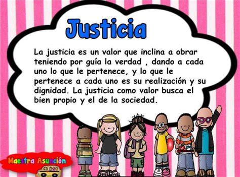 imagenes de justicia para niños de preescolar fichas de primaria valores para una sana convivencia