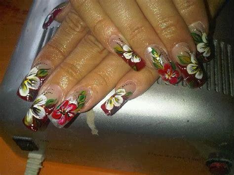 imagenes uñas decoradas pinceladas yusalva nail pinturas acr 205 licas para pinceladas u 209 as en