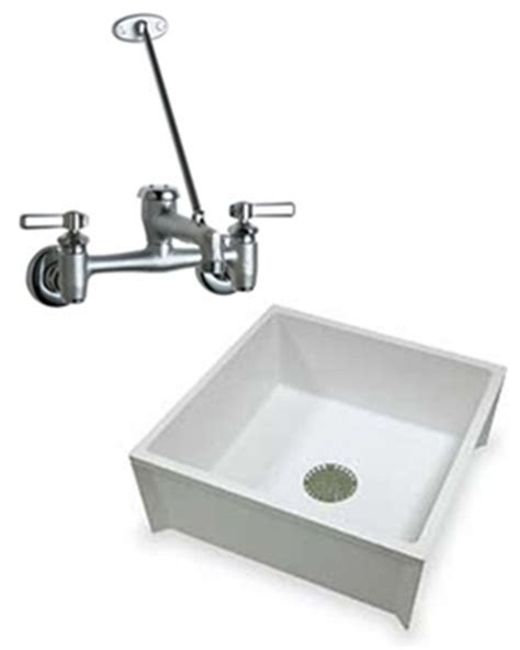 Chicago Mop Sink Faucet by Chicago Faucets Mustee Service And Mop Sink Combo Deal