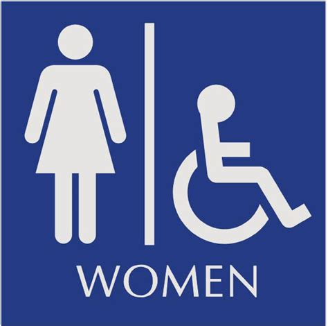 handicap bathroom sign january 2011