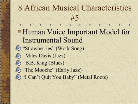 characteristics of swing music african roots of popular music
