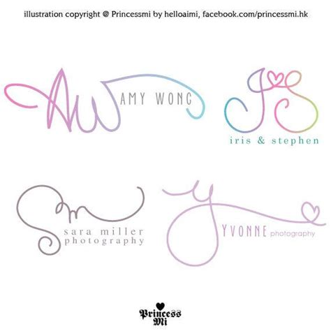 design logo using initials custom handwritten logo signature design initials by