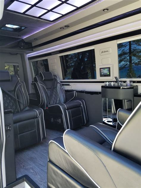 luxury minivan mercedes el kapitan van conversion luxury sport edition