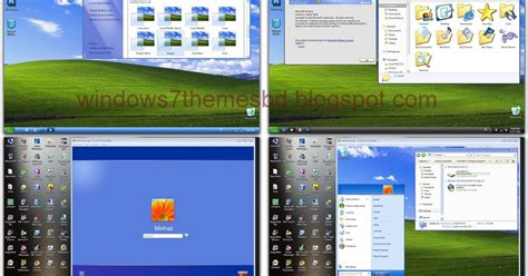 facebook themes free download xp free download xp skin pack for windows 7 windows 7