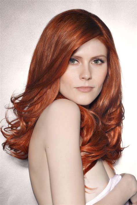 les couleurs de cheveux cheveux roux tendances et colorations coloration cheveux roux