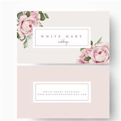 free vintage floral business card template vintage floral business cards gallery card design and