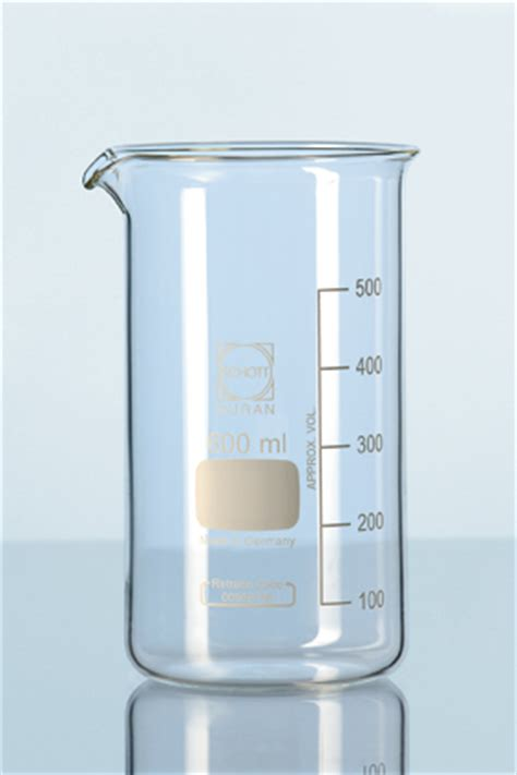 Duran Beaker 2000 Ml Form With Graduation And Spout duran beaker