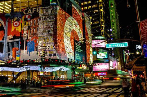Broadway Lights by Broadway Lights Photograph By Alex Hiemstra