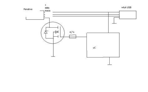 Fds 6690a mosfet jako włącznik wyłącznik pendrive elektroda pl