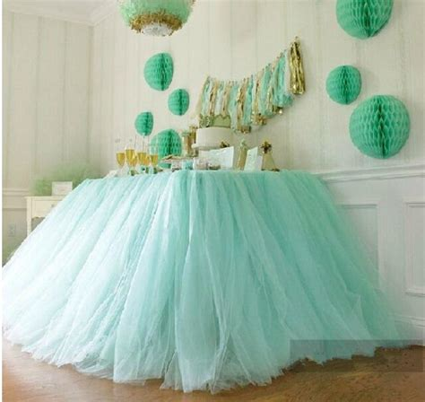 Diy Tutu Table Gorgeous Decorating by Festive Wedding Supplies Customize Handmade Tulle Tutu