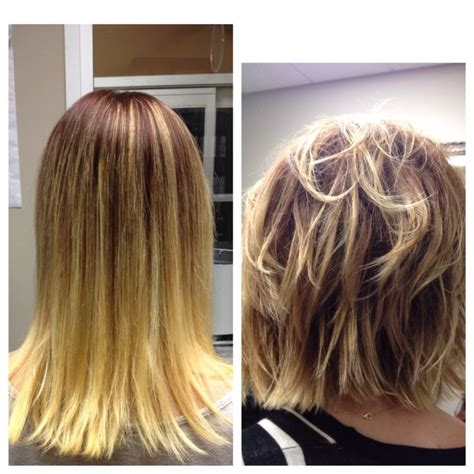 V Cut Hairstyle With Layers Hairstyles By Unixcode by Before And After Layered Hairstyles Hairstylegalleries