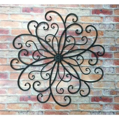 Outdoor Wall Decor Large by Best 25 Metal Wall Ideas On Metal Walls