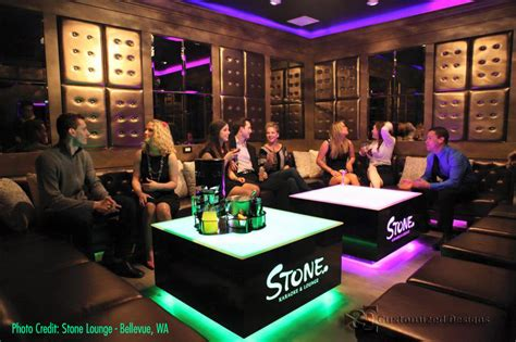 Nightclub Couches led coffee tables nightclub bar lounge furniture light up tables
