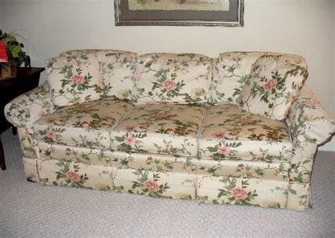 pennsylvania house sofa pennsylvania house pillow back triple cushion sofa in a