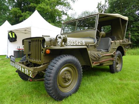 Lu Jeep willy s jeep bei den luxembourg classic days 2016 in