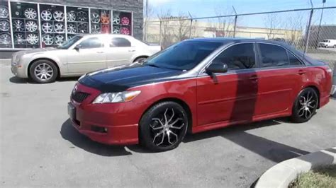 toyota camry custom hillyard lions 2007 toyota camry with 18 inch black