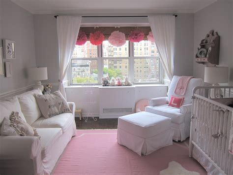 gray baby room pink and gray elephant nursery project nursery