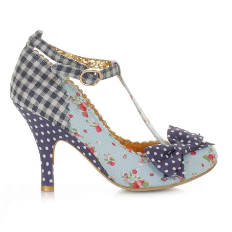 irregular choice shoes womens irregular choice bloxy blue t bar court