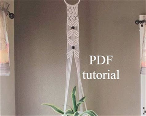 Free Macrame Patterns Pdf - macrame etsy