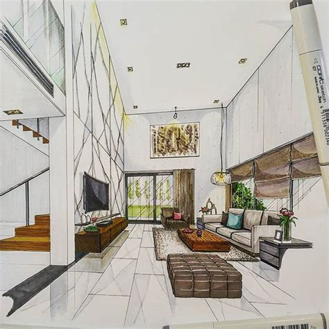 enhanced home design drafting 25 best ideas about interior design sketches on pinterest
