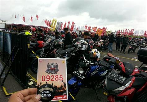 kaos support honda bikers day 2017 honda bikers day 2017 paling meriah sobbb roda2blog