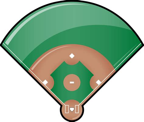 baseball clipart best baseball field clip 4781 clipartion