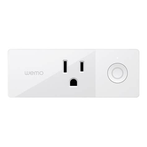 wemo light switch home depot wemo mini smart plug f7c063 the home depot