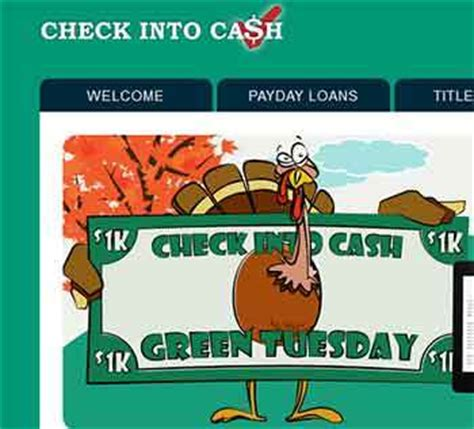 Sweepstakes Check - www checkintocash com check into cash quot 21 days of thanksgiving quot sweepstakes