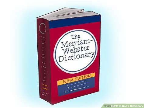 dictionary to how to use a dictionary 12 steps with pictures wikihow
