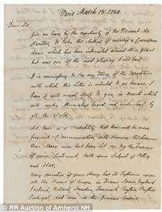 declaration of independence breakup letter exles civil war photographs and letters revealed at auction