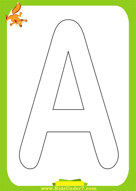 coloring pages kids   alphabet coloring pages