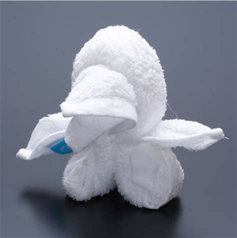 Washcloth Origami - 20 animal towel sculpture design swan