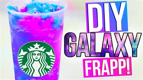 Starbucks Galaxy by Diy Galaxy Starbucks Vanilla Bean Frapp
