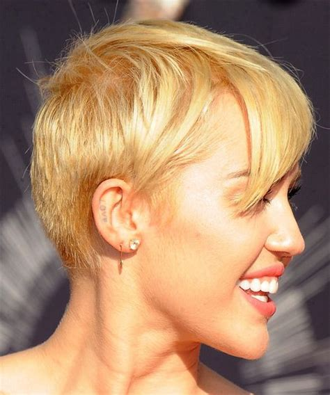 what do you call miley cyrus haircut miley cyrus hairstyle side view beautiful short
