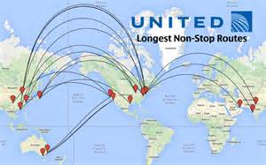 United Airlines Hubs by Top 14 Longest United Airlines Flights In The World