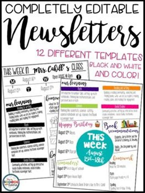 open office newsletter templates 25 best ideas about newsletter on