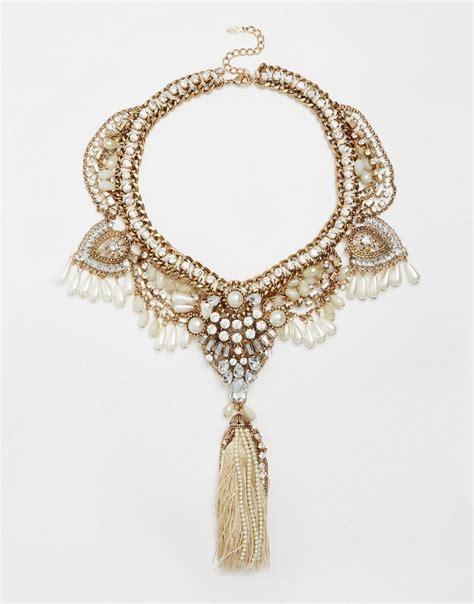 aldo aldo germansen statement necklace at asos