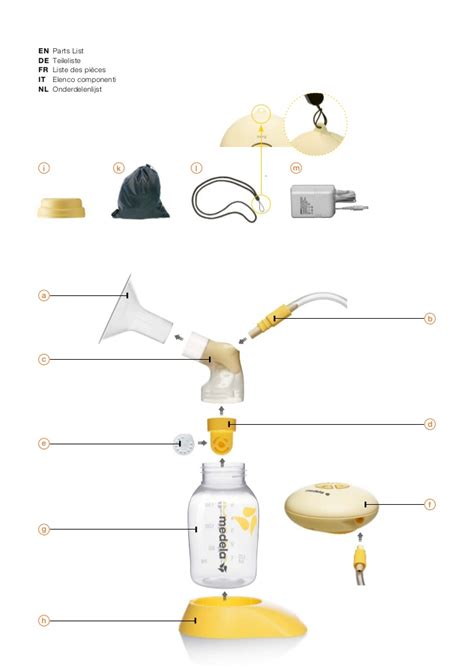 medela swing instructions medela swing borstkolf