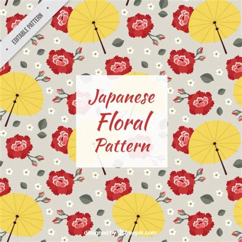 japanese pattern free download japanese floral pattern vector free download