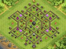 coc layout superman superman th9 farming base by indah oktaviani clash of