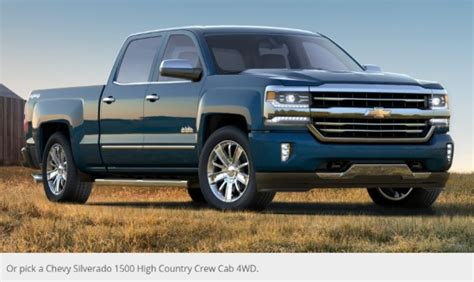 Chevy Sweepstakes - win a premium ford dodge or chevy pickup truck or 50 000 cash