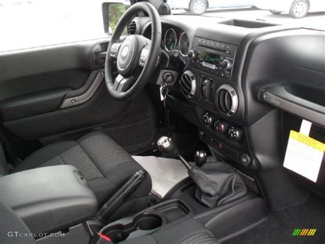 Jeep Sport Interior by Black Interior 2012 Jeep Wrangler Unlimited Sport S 4x4